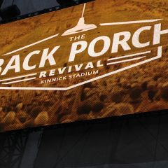 Mickle Communications and 104.9 the Hawk Cover The Back Porch Revival