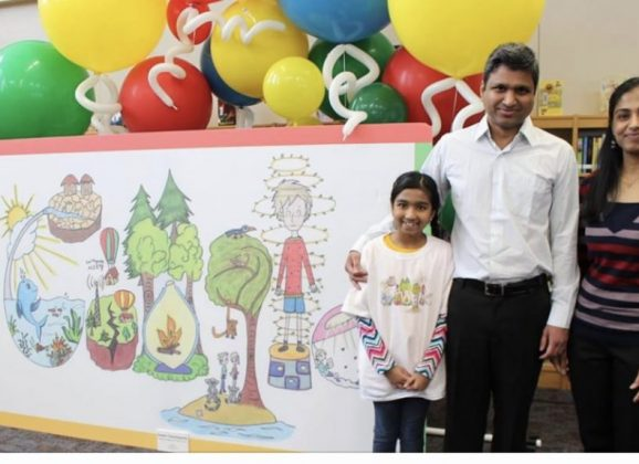 Hopewell Elementary Student Wins Google Contest For Second Time